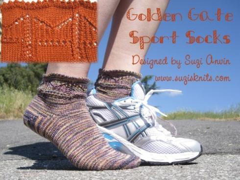 Golden Gate sport socks